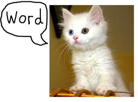 cat word