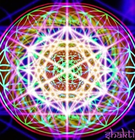 4D flower of life metatron, by shaktibonny